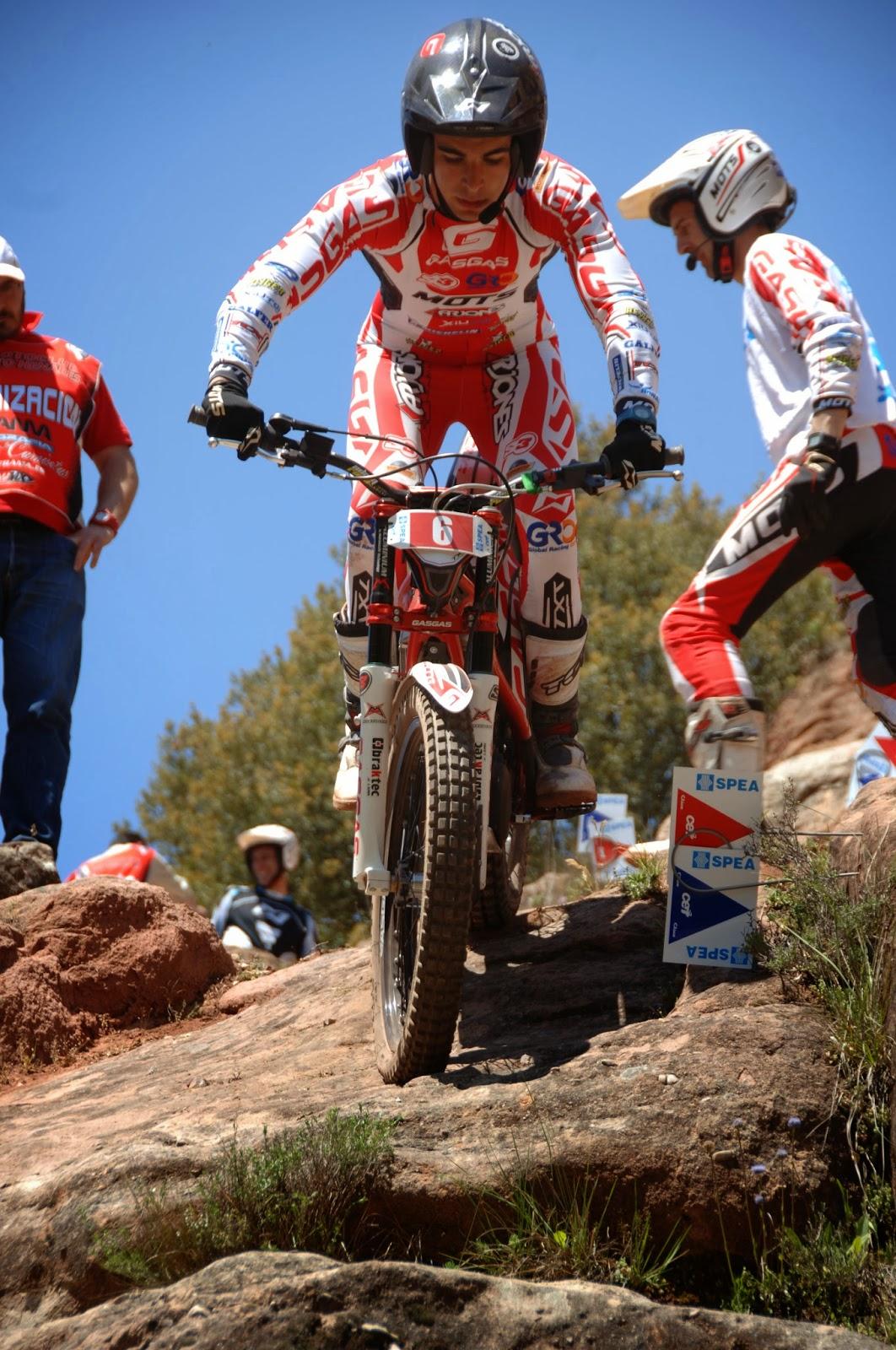 Jorge Casales Campeón del Mundo Junior Trial