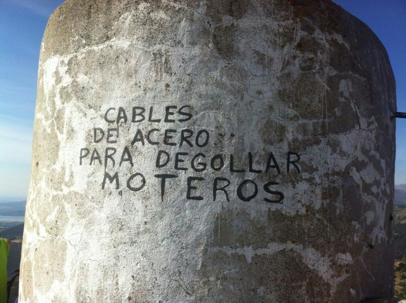Pintada en Pico Perdiguero
